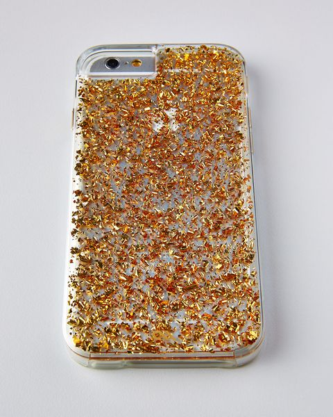 "Neiman Marcus 24K Gold iPhone Case, $50; <a href=""http://www.neimanmarcus.com/24-Kt-Gold-iPhone-6-Case/prod174680140/p.prod?eVar4=RR_OOS_PDP"" target=""_blank"">neimanmarcus.com</a>        &nbsp;"