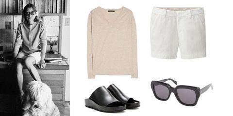 Eyewear, Vision care, Product, Sleeve, Textile, White, Style, Carnivore, Dog breed, Fashion,