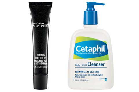 """""""Cetaphil. I try to use it morning and night. It's super simple and plain. Ninety percent of the time I have on zit cream."""""""