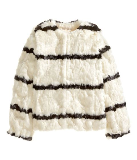 "H&amp;M Faux Fur Jacket, $129; <a href=""http://www.hm.com/us/product/79298?article=79298-A&amp;fromSearch=fur&amp;cm_vc=SEARCH"">hm.com</a>  <!--EndFragment-->"