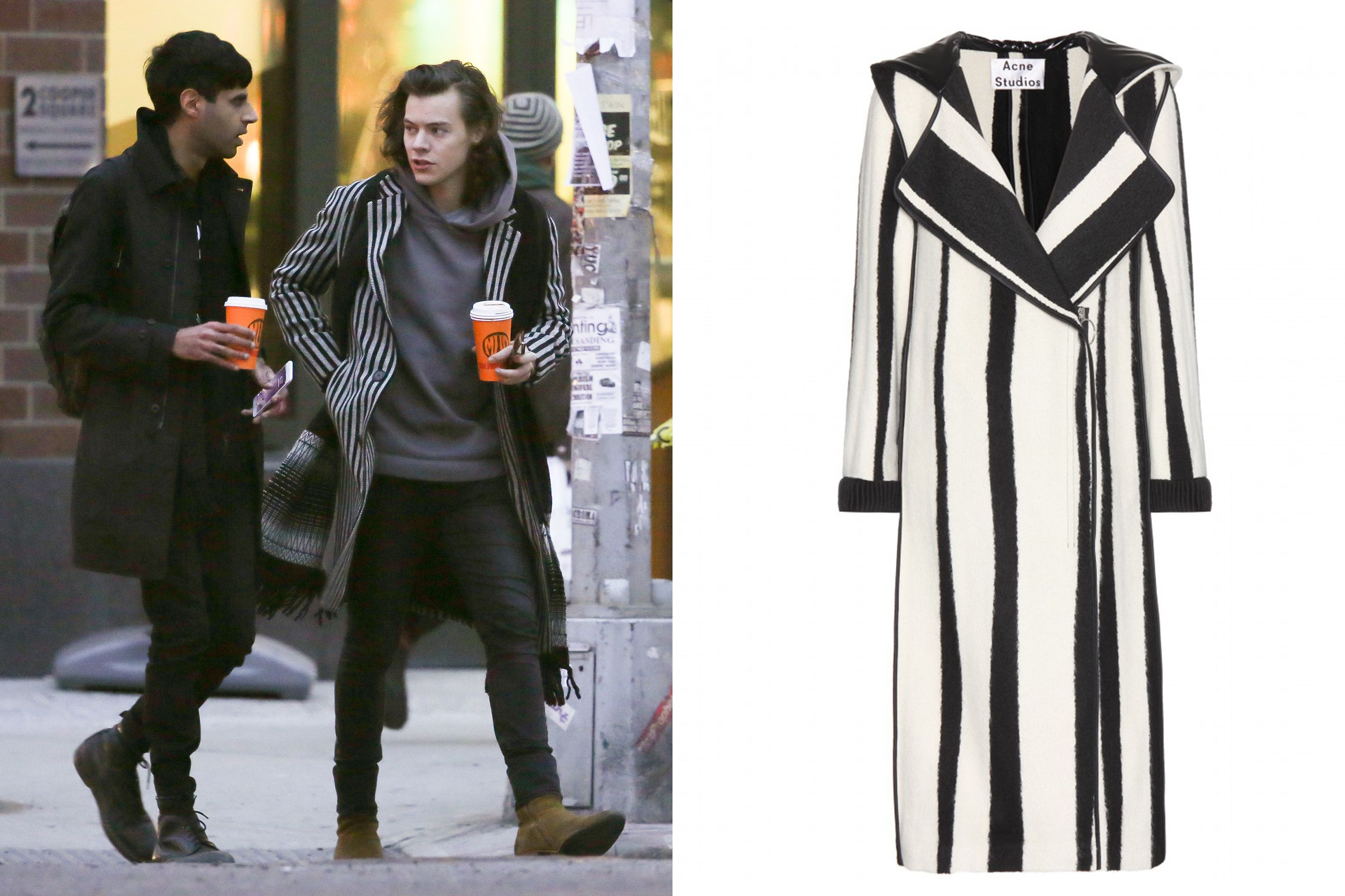 Your Complete Winter Coat Guide, Inspired by Harry Styles