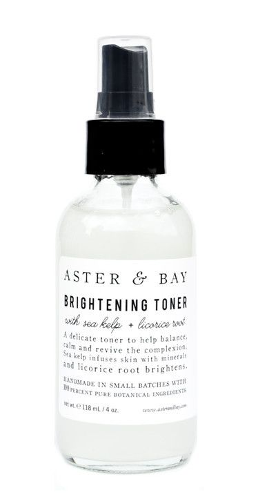 "A&nbsp;spray of this brightening mist gives you a&nbsp;post-coital-esque dewiness, but&nbsp;the formula&nbsp;also&nbsp;has a balancing and calming effect (much like a good between-the-sheets session)&nbsp;on top of that, too.&nbsp;  $26; <a href=""http://www.leifshop.com/products/sea-kelp-licorice-root-brightening-toner"">leifshop.com</a>"