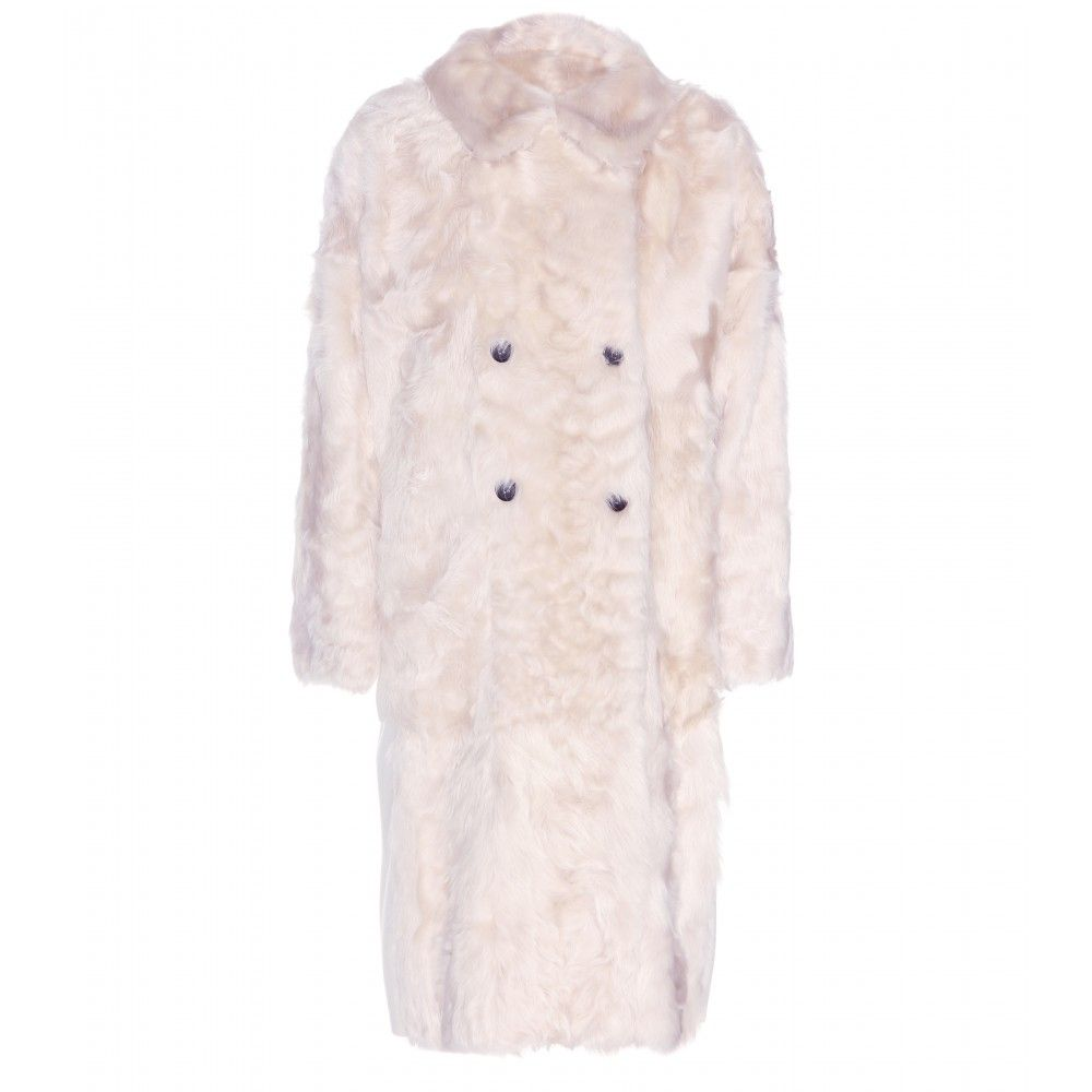 "Marni Wool and Goat Fur Coat, $4,812&#x3B; <a href=""http://www.mytheresa.com/en-us/wool-and-goat-fur-coat.html"">mytheresa.com</a>"