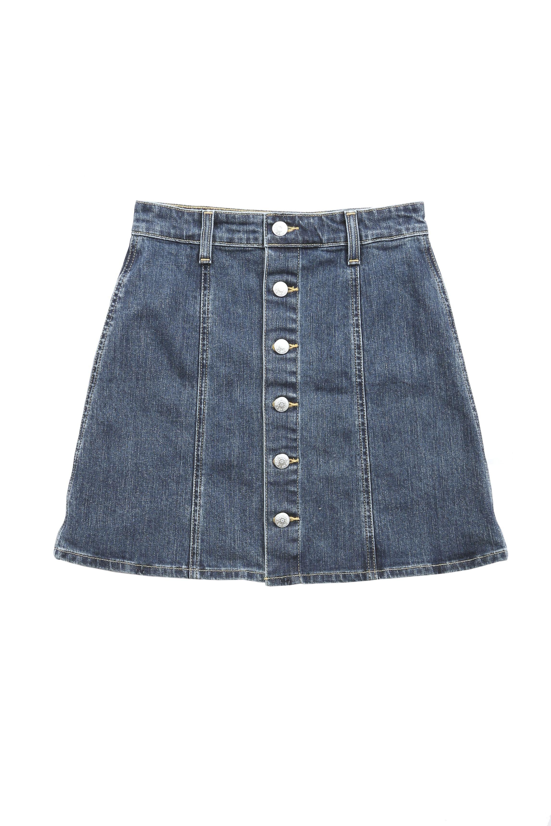 "<p>Kety Denim Skirt, $245; <a href=""http://www.stylebop.com/product_details.php?menu1=designer&menu2=&menu3=4068&id=613063"">stylebop.com</a></p>"