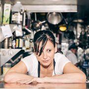 Flash photography, Portrait photography, Kitchen, Shelf,