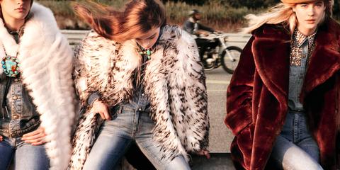 Trousers, Denim, Jeans, Textile, Jacket, Outerwear, Coat, Natural material, Street fashion, Fashion,