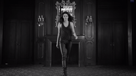 Watch Kendall Jenner Do Her Best Model Strut in Her First Estée Lauder Ad