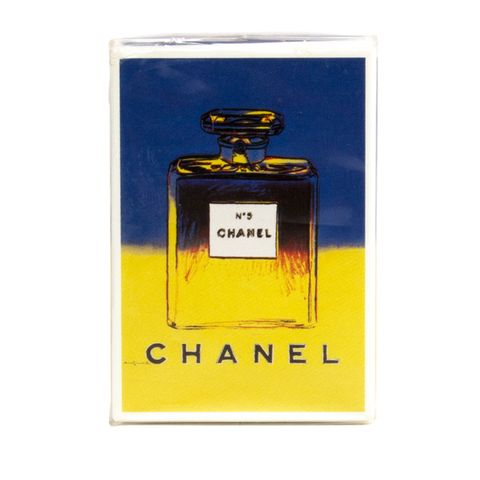 "Chanel No. 5 Parfum Limited Andy Warhol Edition, $675; <a href=""https://www.1stdibs.com/fashion/ephemera/curiosities/chanel-n5-parfum-limited-andy-warhol-edition-75-ml/id-v_105139/"">1stdibs.com</a>  <!--EndFragment-->"