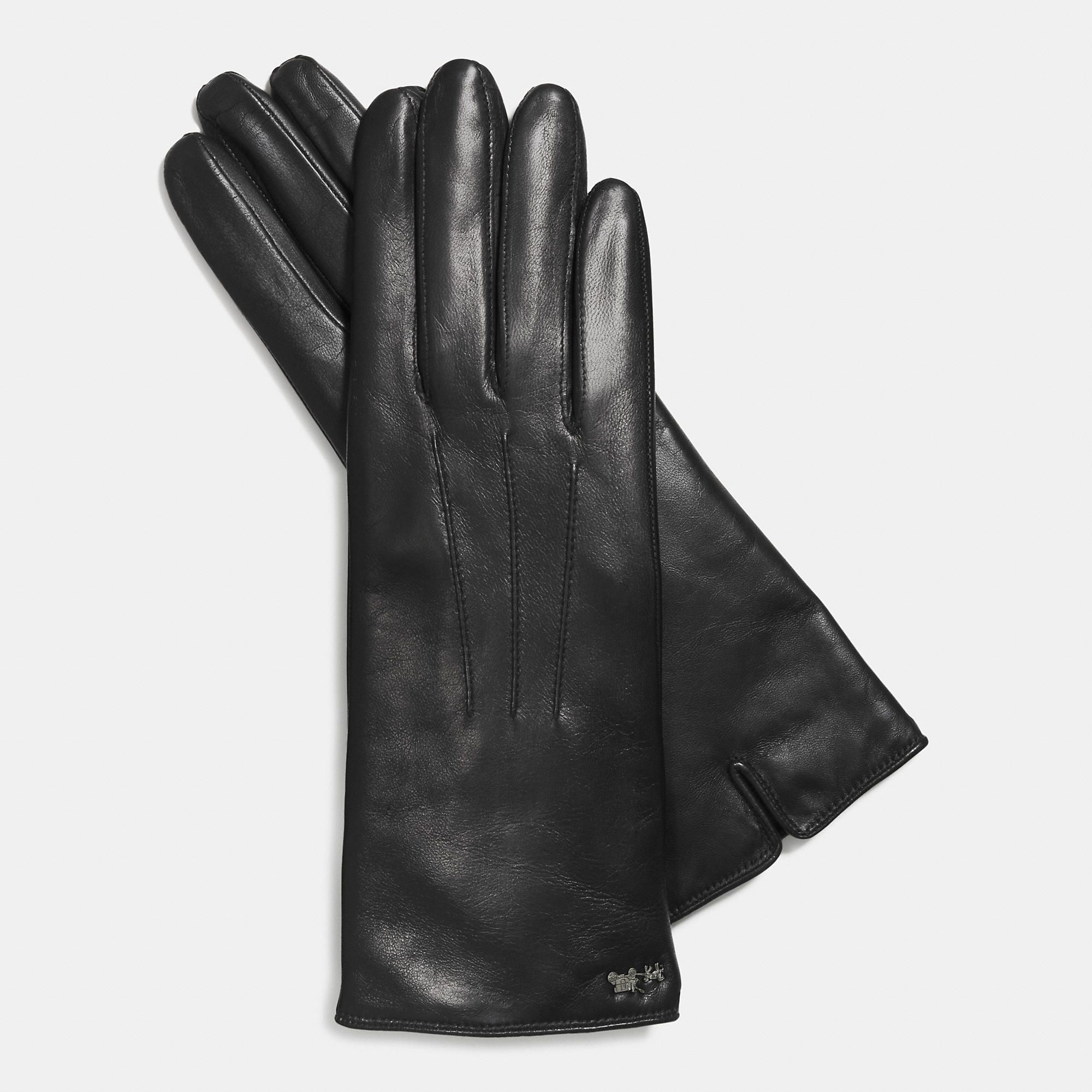 "Coach Leather Tech Glove, $74;&lt;a href=""http://www.coach.com/online/handbags/Product-coach-10551-10051-85125-en?cs=blk&amp;amp;storeId=10551&amp;amp;catalogId=10051&amp;amp;langId=-1&amp;amp;partNumber=85125_blk&amp;amp;Cid=A_L1&amp;amp;siteID=Hy3bqNL2jtQ-1RlDtpfiGMIcV1cPXiHWwQ""&gt; coach.com&lt;/a&gt;  <!--EndFragment-->"