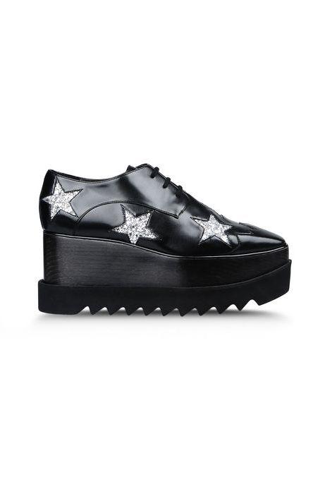 """Stella McCartney Elyse Shoe, $1,080; <a href=""""http://www.stellamccartney.com/us/stella-mccartney/wedges_cod44740312xp.html"""">stellamccartney.com</a>"""