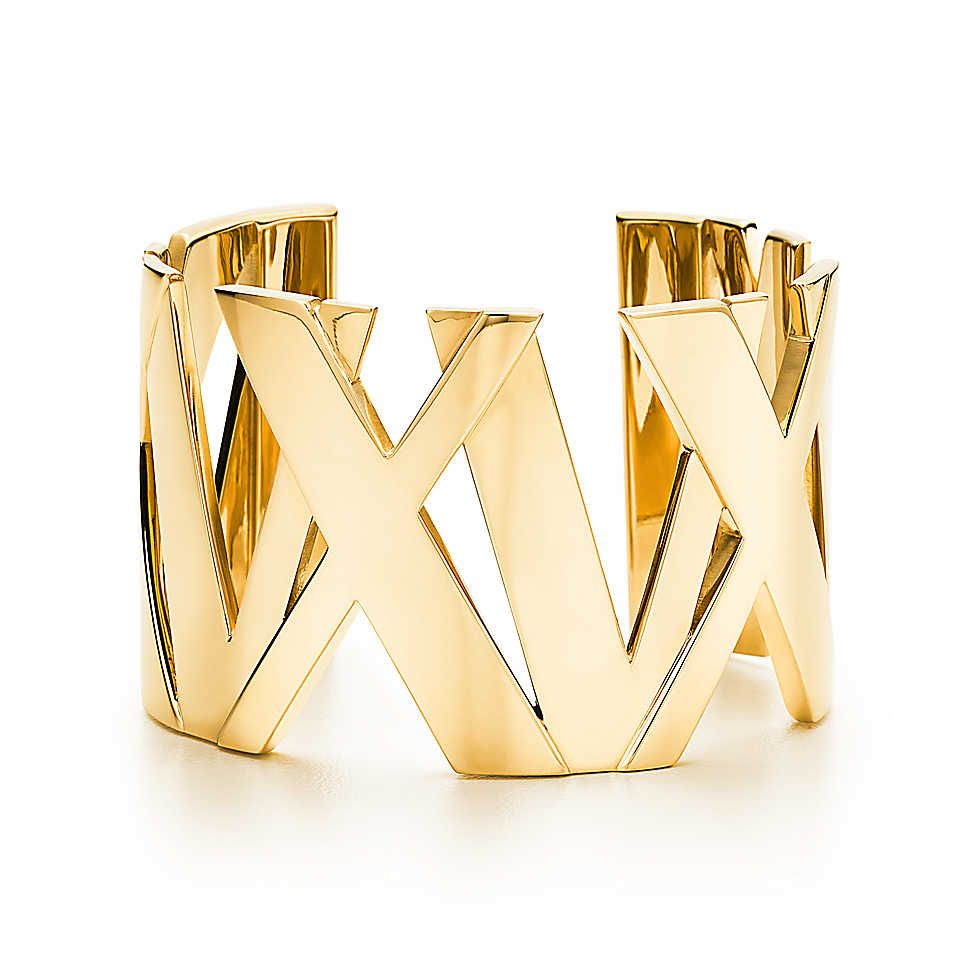 "Tiffany Atlas Wide Cuff, $12,000; <a href=""http://www.tiffany.com/Shopping/Item.aspx?fromGrid=1&sku=GRP07529&mcat=148206&cid=288192&search_params=p+1-n+10000-c+288192-s+5-r+101424400-t+-ni+1-x+-lr+0-hr+-ri+-mi+-pp+304+6&search=0&origin=browse&searchkeyword="">tiffany.com </a>"