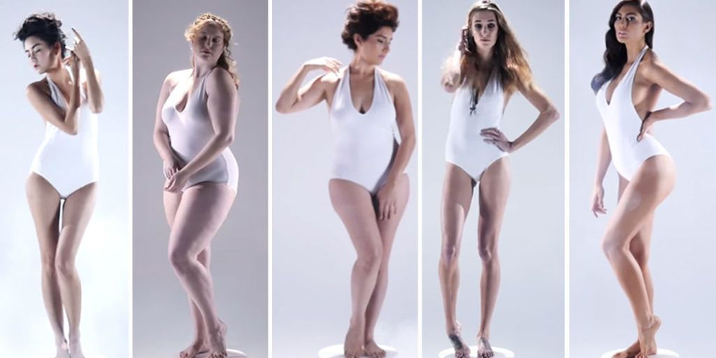 Womens Ideal Body Type Through History Amazing Video