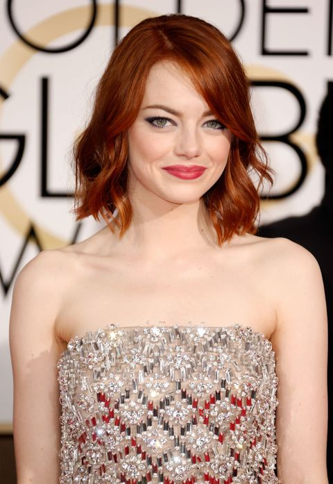 "For a vibrant&nbsp;red like&nbsp;Emma Stone, try <a href=""http://bit.ly/18Cu7Gj"" target=""_blank""> VS Salonist 7/43 Intense Red Copper.</a>"