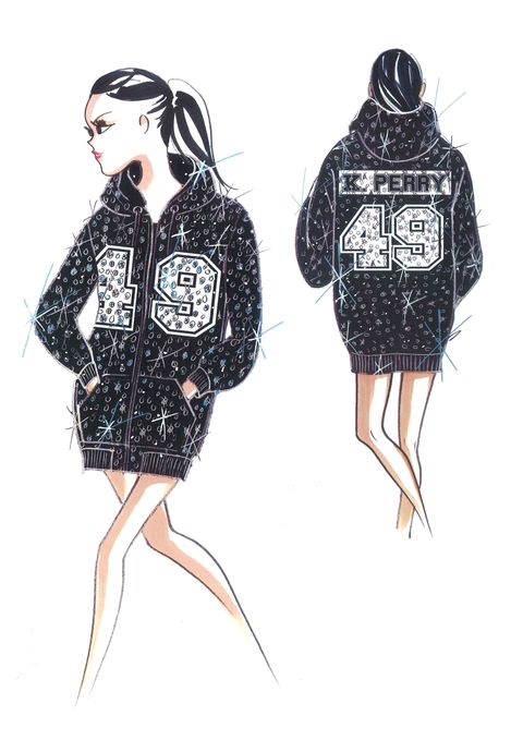 Exclusive: Jeremy Scott On Dressing Katy Perry for the Superbowl