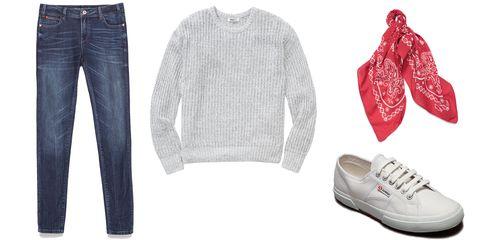 "Zara Medium Rise Skinny Jeans, $49.90; <a href=""http://www.zara.com/us/en/collection-ss15/woman/jeans/medium-rise-skinny-jeans-c361514p2367882.html"">zara.com</a>  Aritzia Grouse Sweater, $34.99; <a href=""http://us.aritzia.com/product/grouse-sweater/48683.html?dwvar_48683_color=4160#start=7"">us.aritzia.com</a>  Levis Paisley Bandana, $14; <a href=""http://us.levi.com/product/index.jsp?productId=28967176&amp;ab=Women_megaNav_Categories_accessories&amp;cp=3146849.3146909.3146914.28962476&amp;camp=CAPolyvore"">us.levi.com</a>  Superga Classic Sneakers, $65; <a href=""http://www.superga-usa.com/Item.aspx?id=89519&amp;np=831"">superga-usa.com</a>"