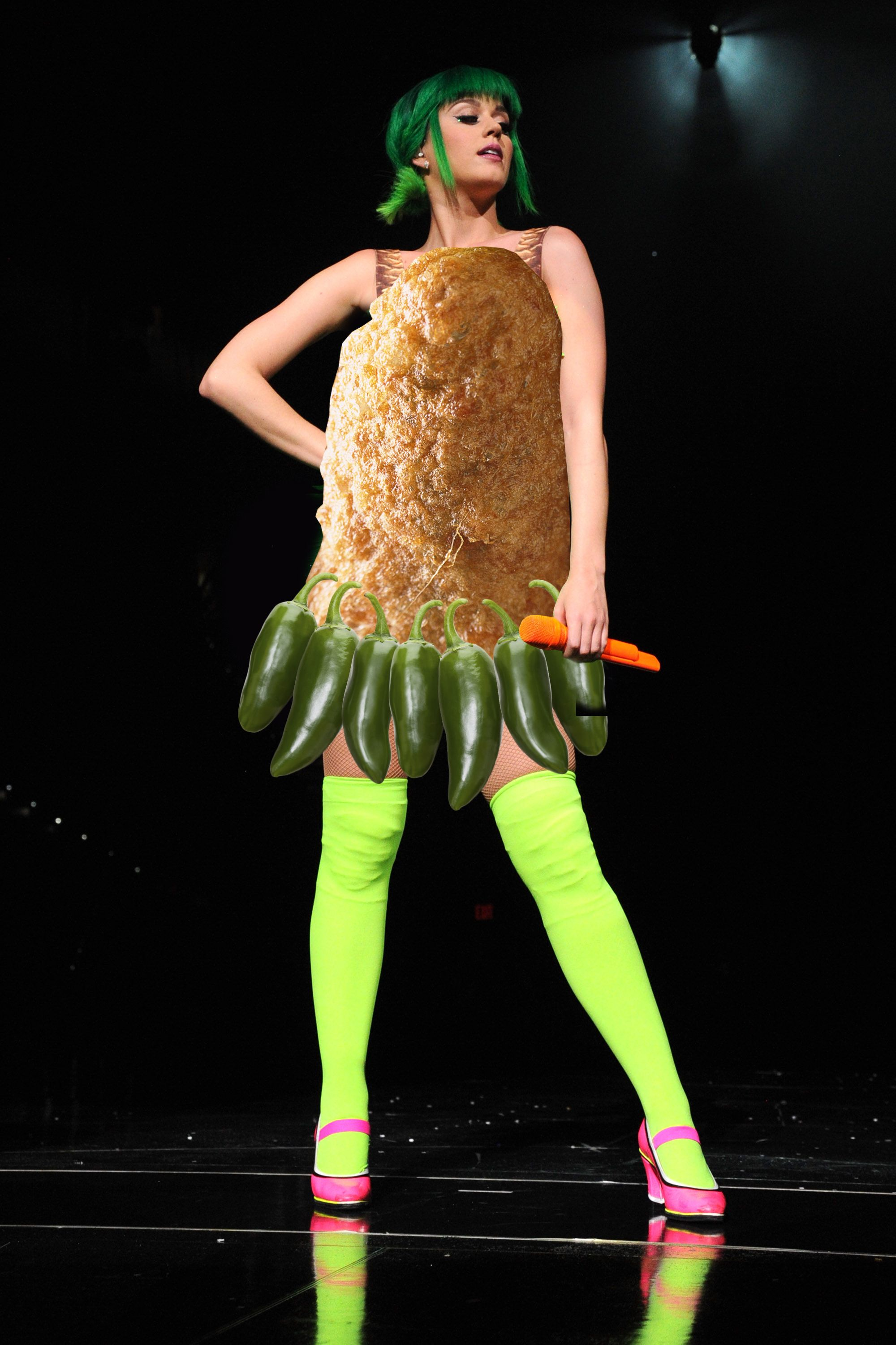 9 Snack Costumes Katy Perry Might Wear for Her Super Bowl Performance