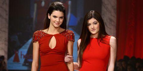 Clothing, Dress, Shoulder, Red, Formal wear, Style, One-piece garment, Flooring, Waist, Fashion model,