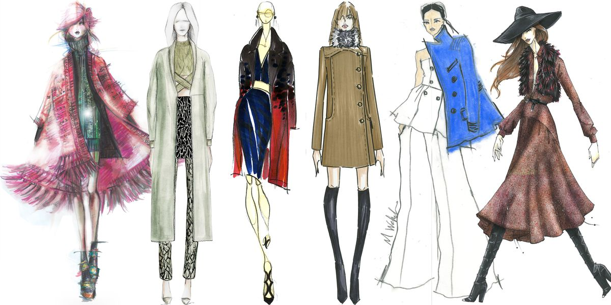 The Making Of Nyfw Designer Sketches And Inspiration