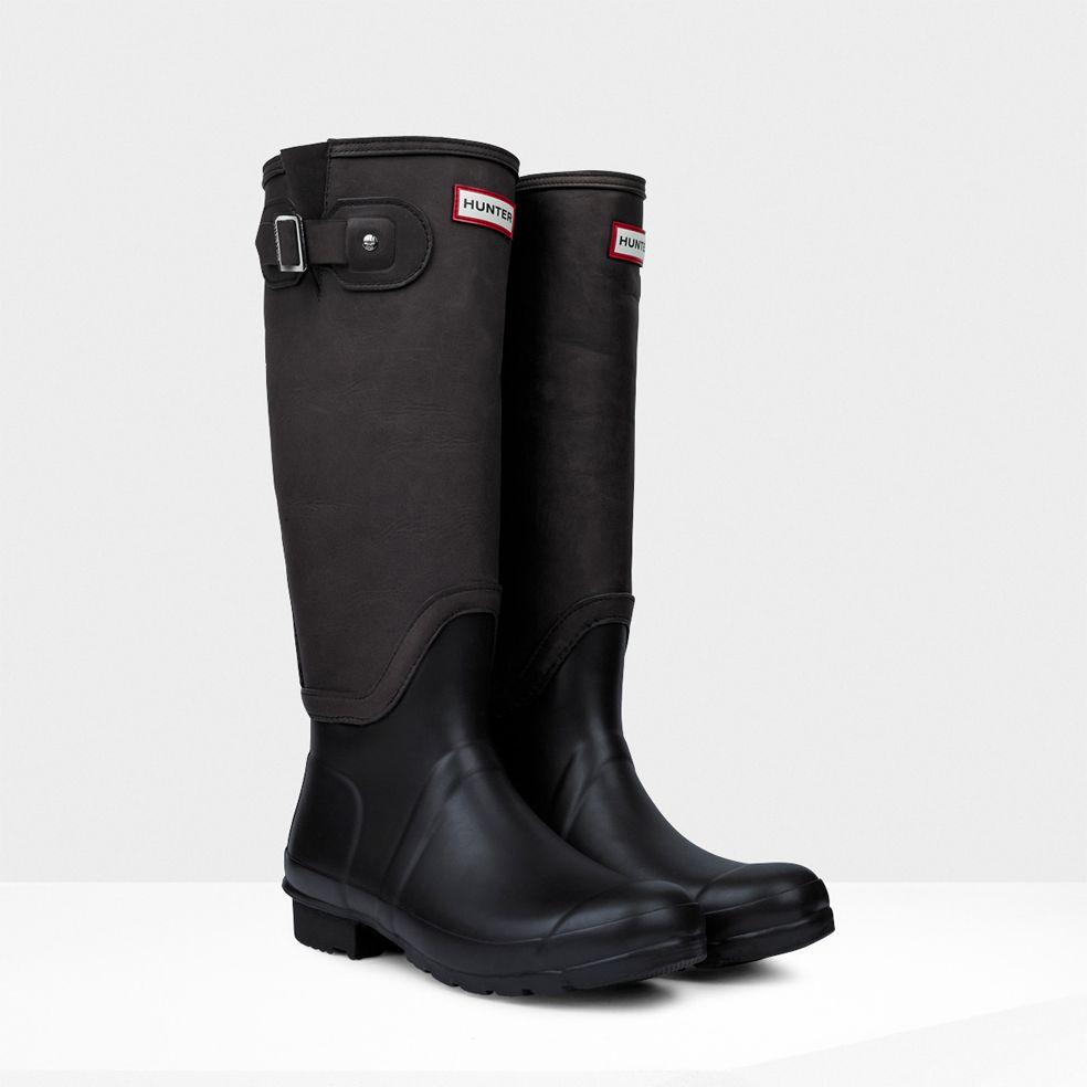 "Hunter Original Shearling Boots, $350;<a href=""http://http://us.hunterboots.com/product/original-shearling-boots""> hunterboots.com</a>"