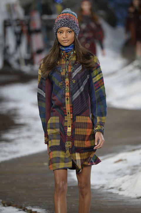 Winter, Textile, Plaid, Style, Tartan, Pattern, Street fashion, Headgear, Fashion accessory, Fashion,