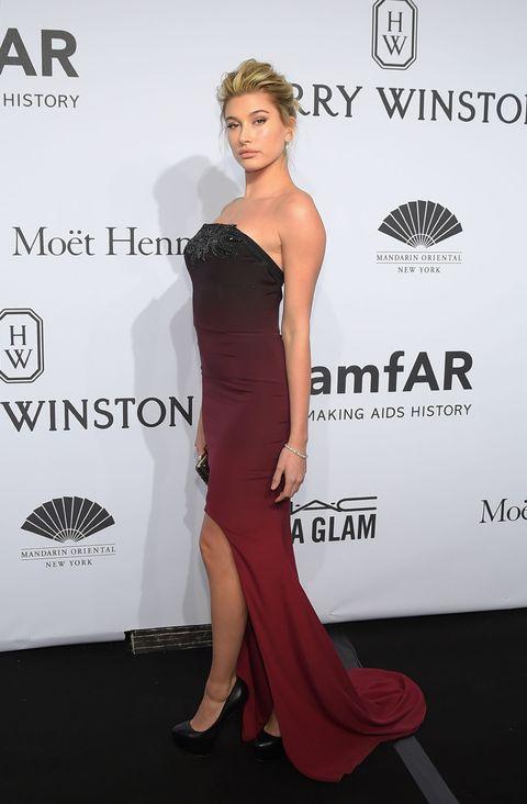 Wearing a Gabriela Cadena dress andHarry Winstonjewels.