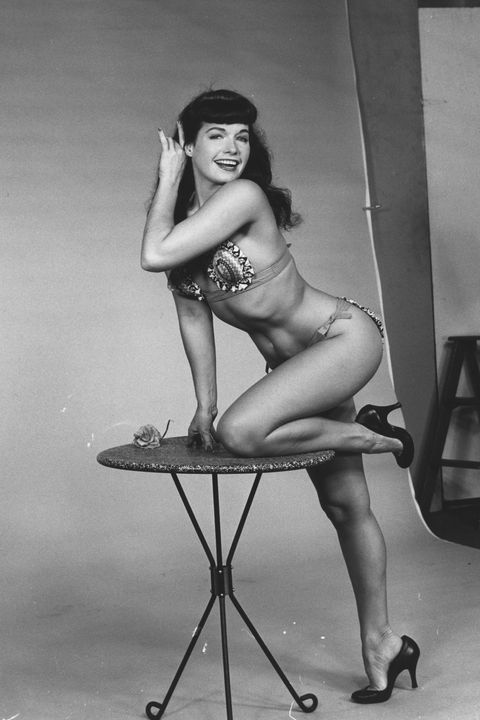 ec8622b7711 American pin-up model Bettie Page (1923) - 2008)