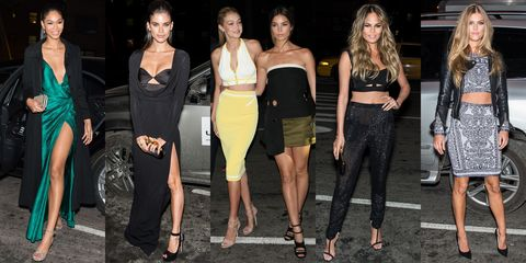 The World's Hottest Supermodels Give Us Some Date Night Outfit Inspiration
