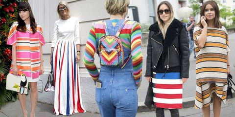 ac333fa5bf607 How to Wear Stripes - 6 Ways To Wear Bright Stripes Now and Later