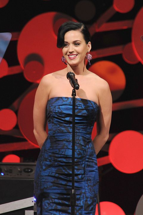 NEW YORK, NY - MAY 01:  Singer Katy Perry attends the 2013 Delete Blood Cancer Gala honoring Vera Wang, Leighton Meester and Suzi Weiss-Fischmann on May 1, 2013 in New York City.  (Photo by Dimitrios Kambouris/Getty Images for Delete Blood Cancer-DKMS Americas)