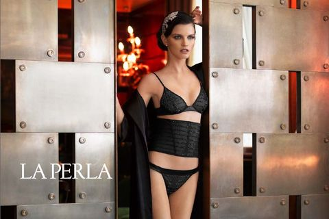 b8f9e8994c8ee Corset maker Ada Masotti founded La Perla in 1954, focusing on bright silks  embellished with