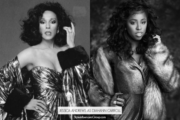 Jessica Andrews as Diahann Carroll