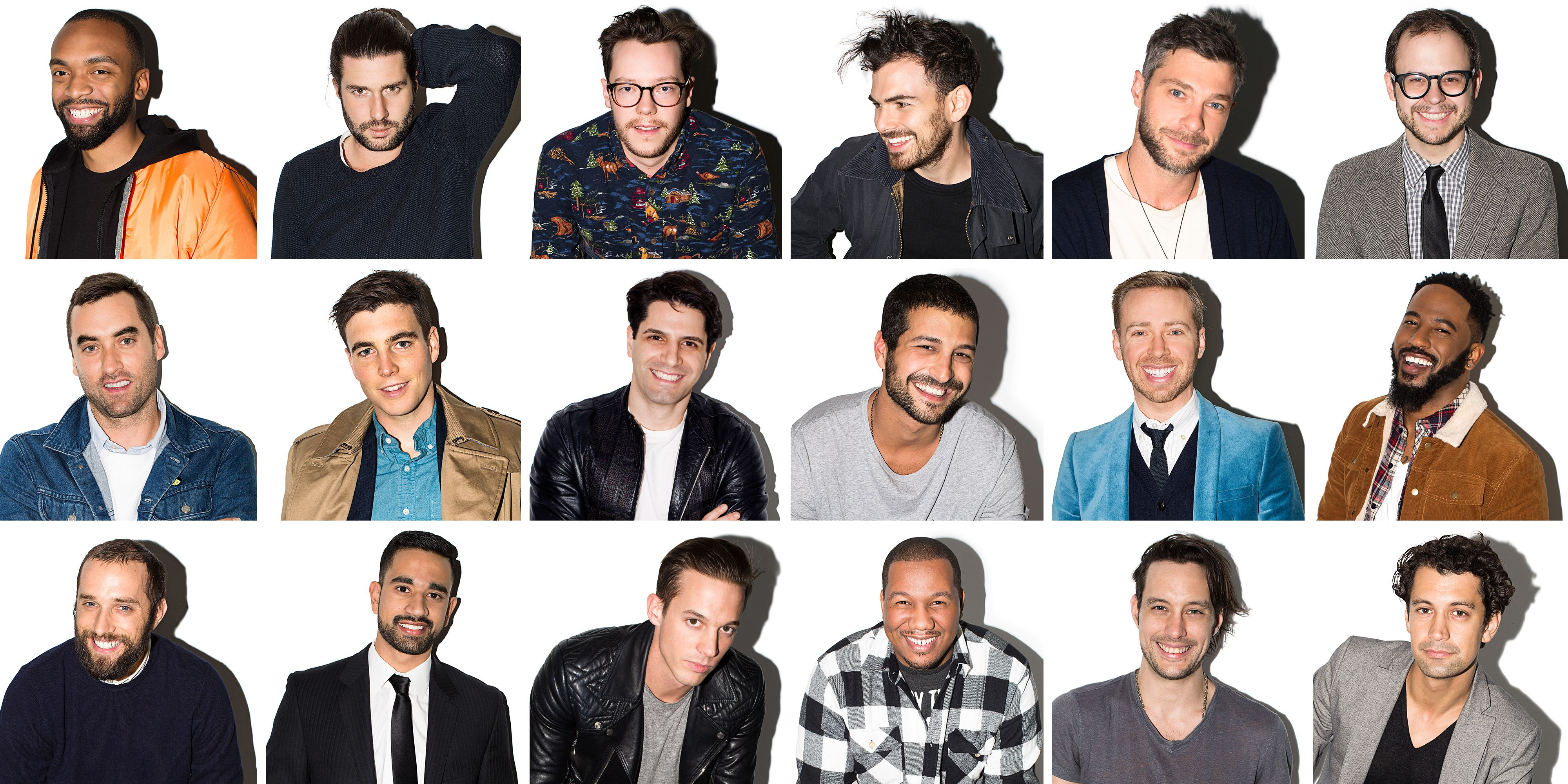 40 most eligible bachelors over Hollywood's 40
