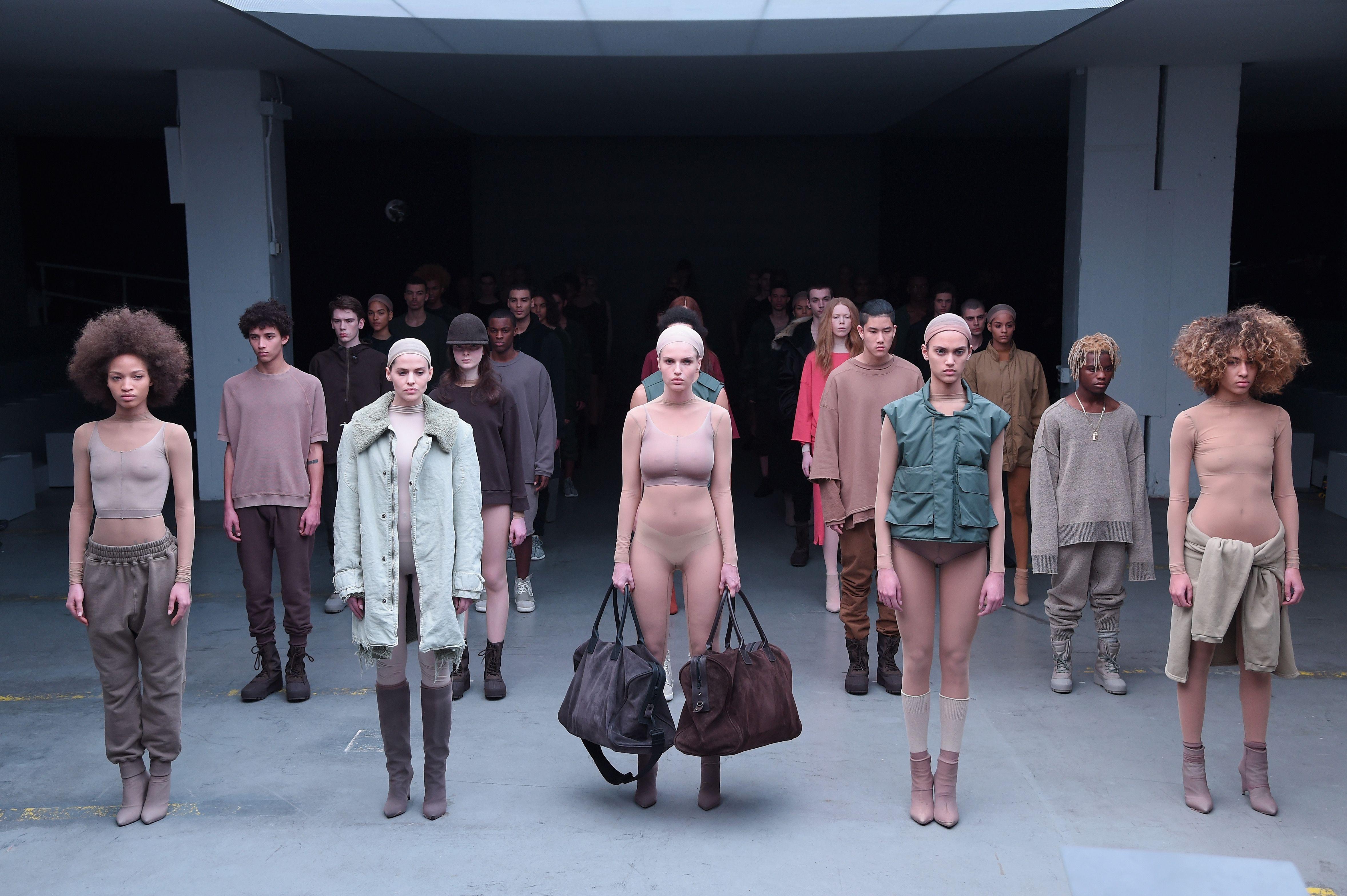 92c86e4e4e79 Everything That Happened at Kanye West s New York Fashion Week Show
