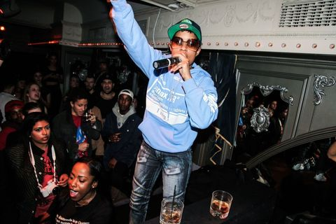 BULLETT x Duh Party at Up&amp&#x3B;Down featuring O.G. Maco and Dej Loaf on 2/19/15