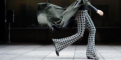 Clothing, Textile, Human leg, Outerwear, Style, Street fashion, Fashion, Black, Jacket, Grey,