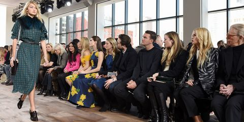 All the Celebrity Front Rows of New York Fashion Week