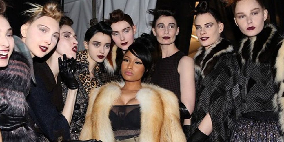 Nicki Minaj Had the Best Time at the Marc Jacobs Show