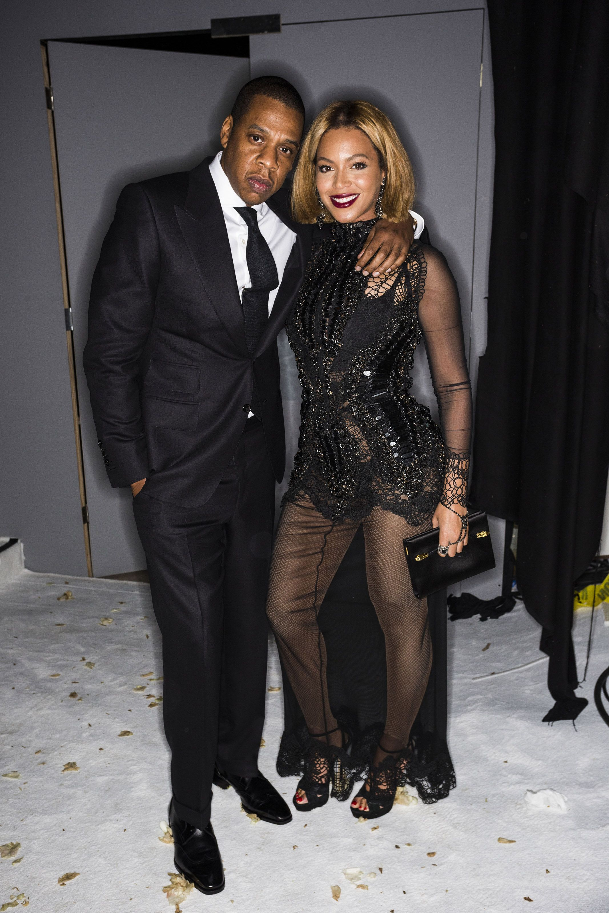 beyonce and jay z at tom ford