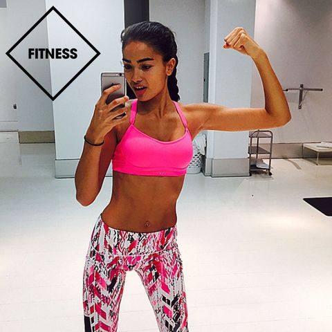 Kelly Gale Food And Fitness Diary Victoria S Secret Daily Diet And