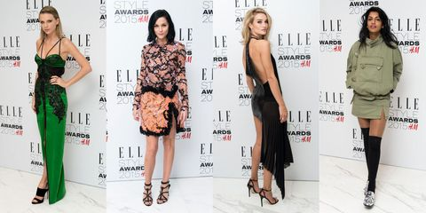 See What Taylor Swift, Cara Delevingne, and More Wore to the ELLE UK Style Awards