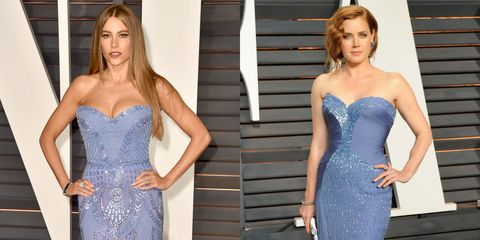 See All the Twin Moments From the Oscars Red Carpet