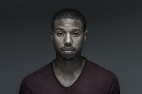 DUBAI, UNITED ARAB EMIRATES - DECEMBER 09:  Michael B Jordan during a portrait session at the 10th Annual Dubai International Film Festival held at the Madinat Jumeriah Complex on December 9, 2013 in Dubai, United Arab Emirates.  (Photo by Gareth Cattermole/Getty Images for DIFF)