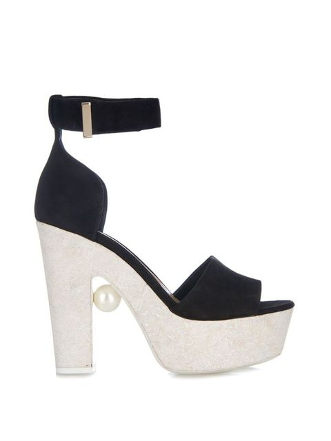 "Nicholas Kirkwood Pearl-Embellished Block Heel Sandals, $800;<a href=""http://www.matchesfashion.com/product/1001104?qxjkl=tsid%3A30064%7Ccgn%3AJUSTIN_WOMENS%7Ckw%3A3872745~dprescod%40hearst.com""> matchesfashion.com</a>"