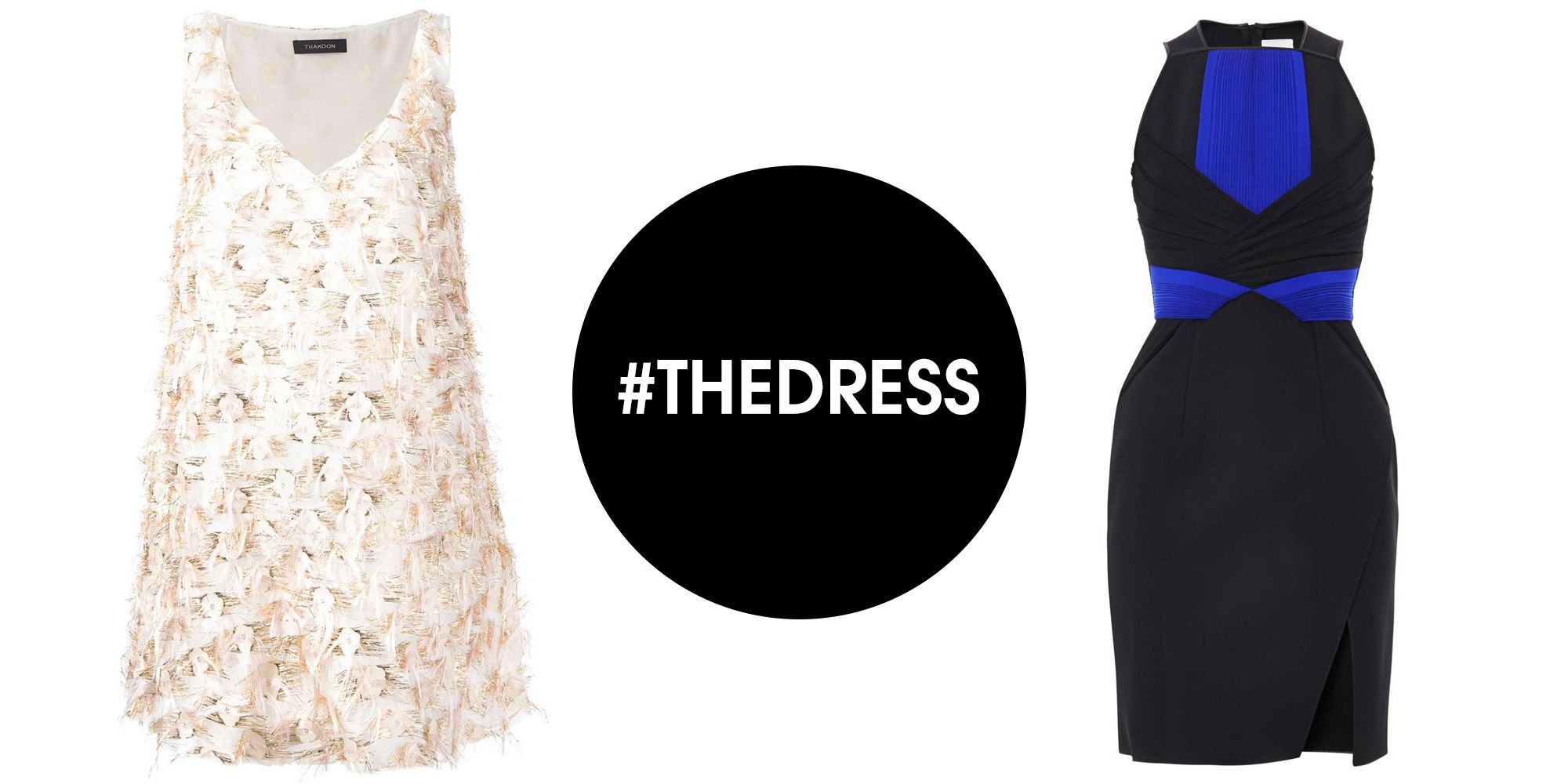 a6ed56a78a Blue Black vs White Gold 15 Dresses to End  TheDress Debate