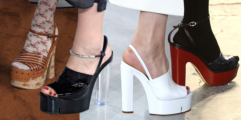 70s Style Platform Sandals