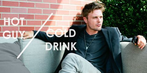 Hot Guy/Cold Drink: Cocktails and Cross-Dressing With Michael Pitt