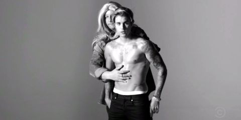 Justin Bieber Spoofs the Spoof of His Calvin Klein Ad