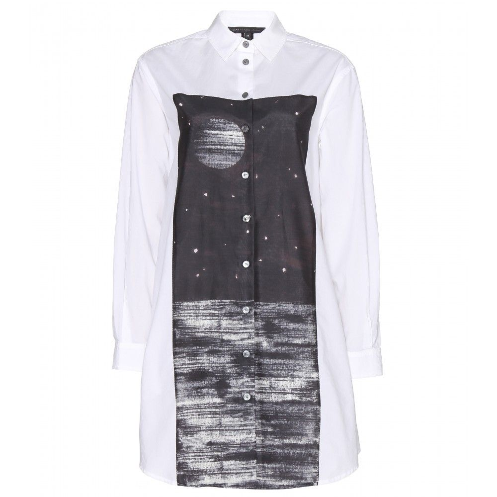 "Marc by Marc Jacobs Hailee Washed Cotton Shirt Dress, $656; &lt;a href=""http://www.mytheresa.com/en-us/hailee-washed-cotton-shirt-dress.html""&gt;mytheresa.com&lt;/a&gt;  <!--EndFragment-->"