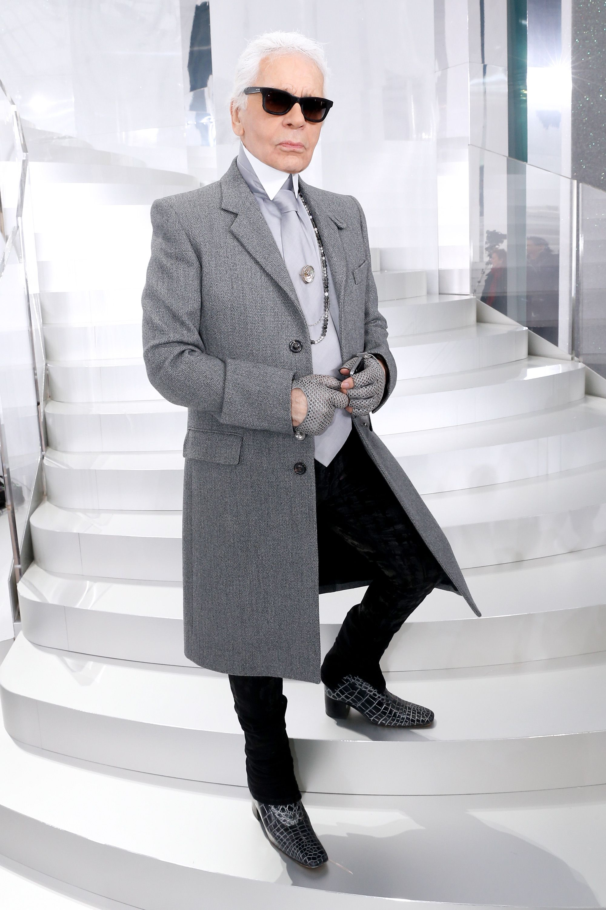 Karl Lagerfeld Doesn't Believe in Stress and Other Important Karlisms