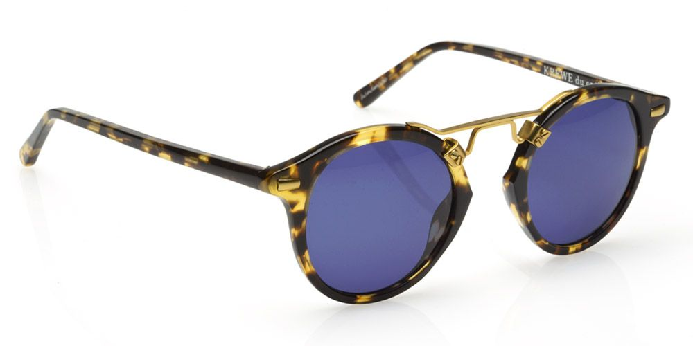 """Launched in 2013, founder Stirling Barrett counts his native New Orleans as inspiration for these fun frames. Gigi Hadid and Alessandra Ambrosio are major fans.  <strong>Krewe Du Optic</strong> sunglasses, $235, <a href=""""http://www.kreweduoptic.com/collections/st-louis/products/st-louis-bengal-sunglasses"""">kreweduoptic.com</a>."""
